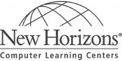 New Horizons official logo bw