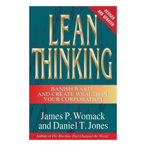 Lean Thinking book cover - authors James Womack and Daniel Jones