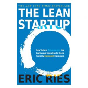 The Lean Startup book cover - author Eric Ries
