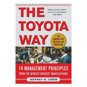 The Toyota Way book cover - author Jeffrey K. Liker