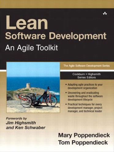 Lean Software Development book by Mary Poppendieck and Tom Poppendieck